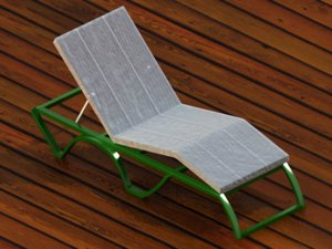 hammock hamaca tumbona 3d model
