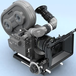 arriflex 435 extreme scanline 3d model