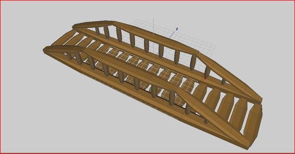 bridge forest 3d 3ds