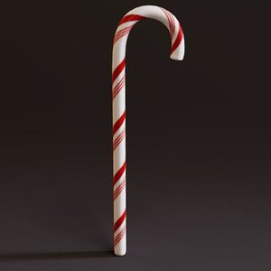 3dsmax candy cane