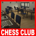 chess club 3D models