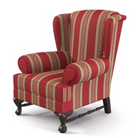 Classic Wing Wingback Chair armchair