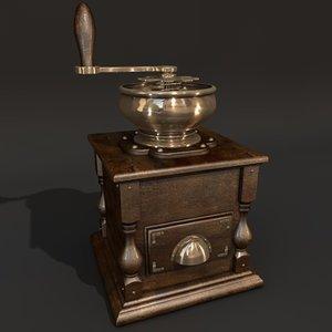 3d victorian mincer model