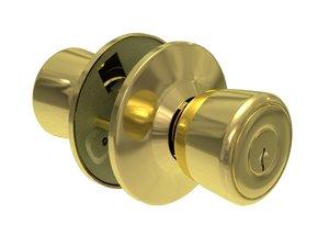 3dsmax door handle knob internal parts