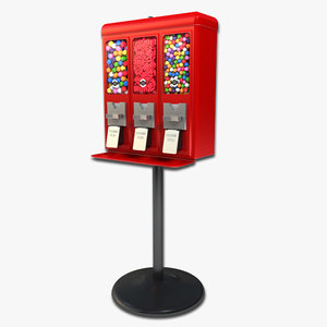 gumball machine 1 3d model