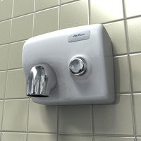 Hand Dryer (white)