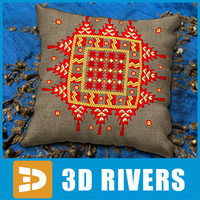 3ds max indian cushion india