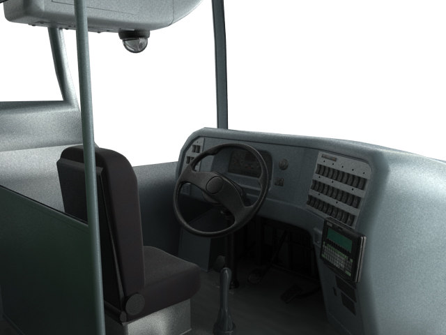 iluminated bus 3d max