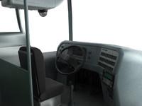 iluminated bus 3d max