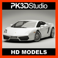 lamborghini gallardo lp560-4 3d model