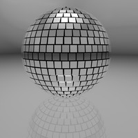 mirrorball disco 3d model