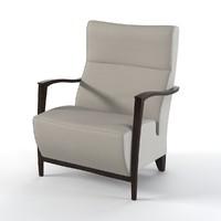 modern chair zanotta 3d max
