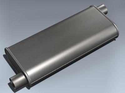 3ds max muffler car parts