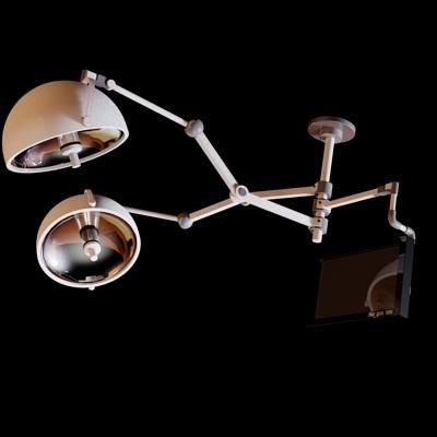 operation room lamp 3d model