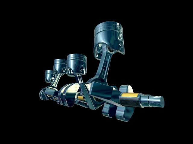 3ds max piston