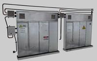 caixa eletricidade grande c4d