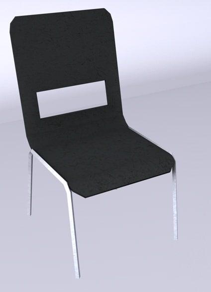 chair 3d c4d