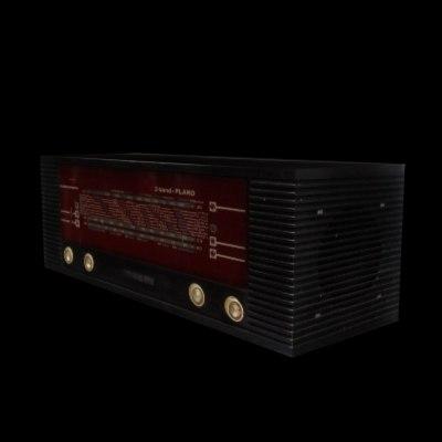 3ds max old radio