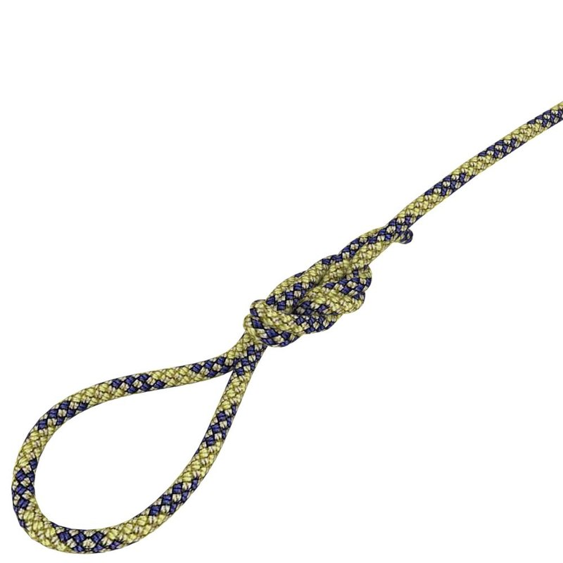 3d climbing rope knot model