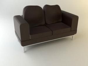 sofa te0001 3d model