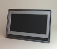 3d model of sony bravia kdl-19s5700