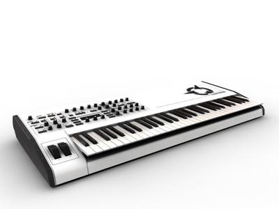synthesizer 3d c4d