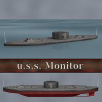 Ship U.S.S. Monitor (Ironclad warship)