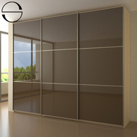 wardrobe sliding doors 3d model