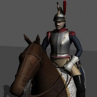 french cuirassier lwo