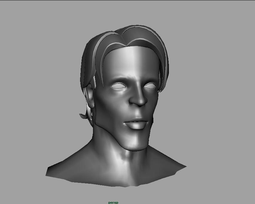 3d stylized face