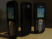 nokia 2600 classic cell phone 3d max