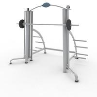 3d model sport fitness