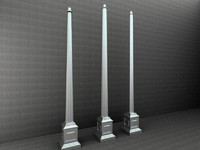 3d antique street lamp