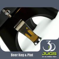 beer keg pint 3d max