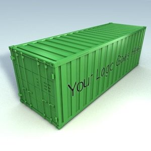 3d iso container