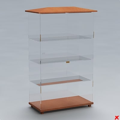 free dxf model cabinet display