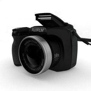 fujifilm finepix s700 digital camera 3d obj