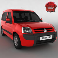 3ds max citroen berlingo