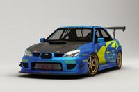 Rigged Subaru Impreza WRX STI
