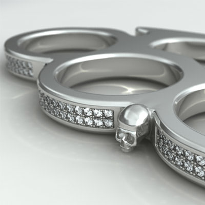 3d knuckle-duster 7 model