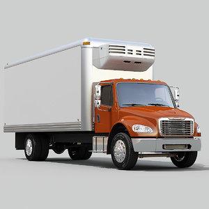3d obj business m2 truck