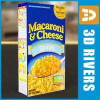 Macaroni and cheese box by 3DRivers