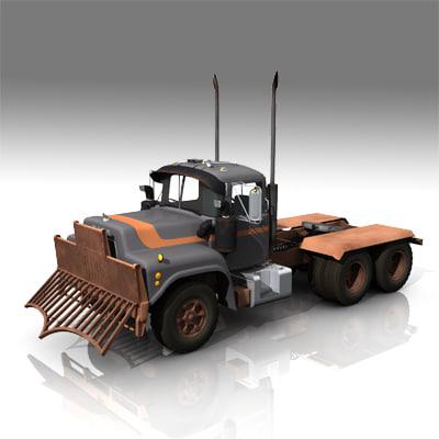 maya mack r600 trucks