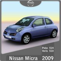 3d 2002 nissan micra