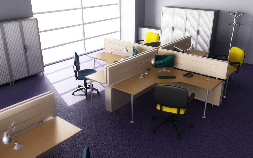 office interior 01c 3d max