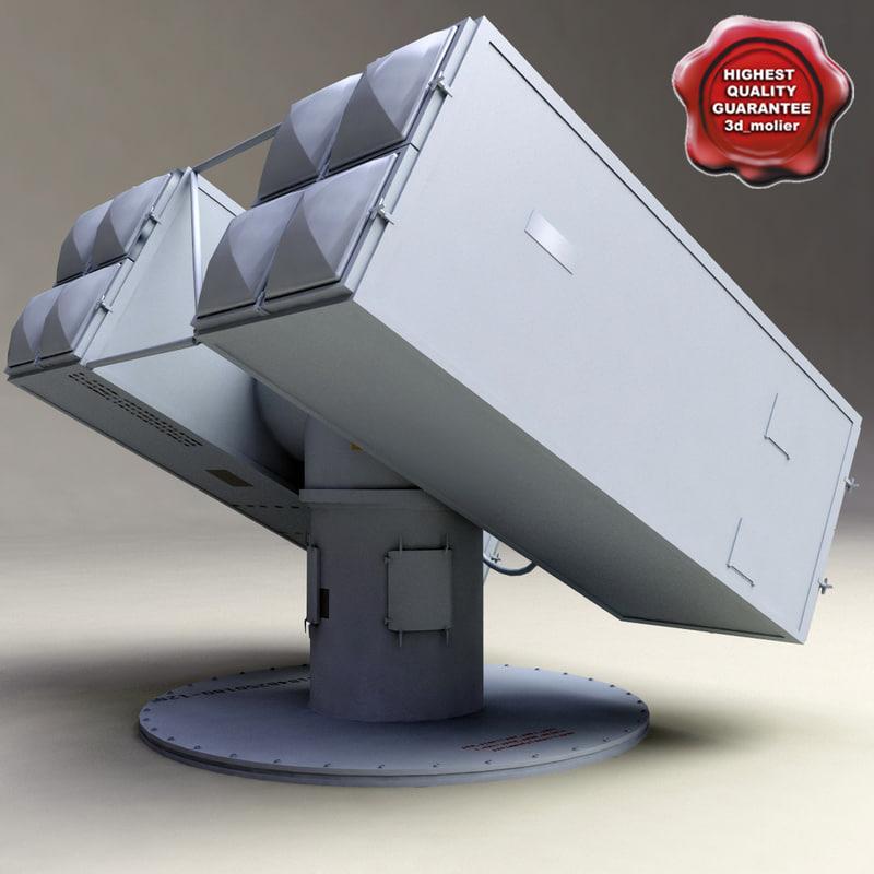 raytheon gmls mk29 3d model