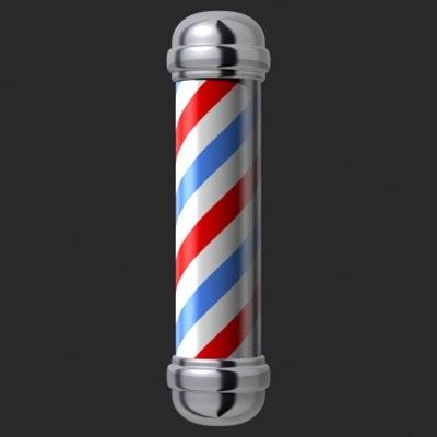 Animated Barber Pole maya barber pol...