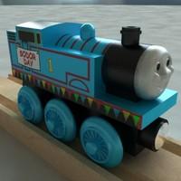 Thomas The Tank Engine Sodor Day Wooden Railway Toy Train