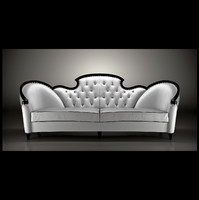 glamourous sofa mantellassi 3d model