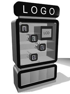 display watch 3d model